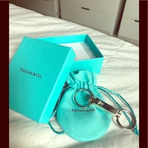 Tiffany & co sterling keychain